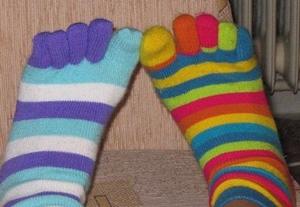 五本指靴下