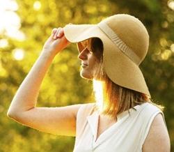 髪の毛の日焼け対策