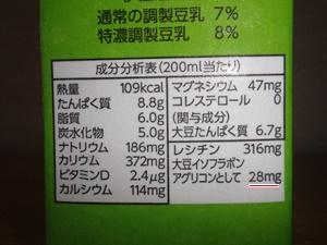 豆乳 成分
