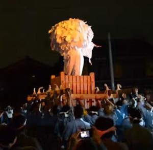 県祭り2020の開催情報!真夜中だけど屋台はいつまで?