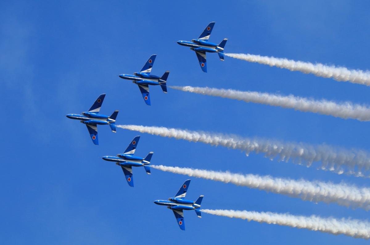 防府航空祭2020の日程!ブルーインパルスは来るの?