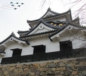 彦根城410年祭にブルーインパルスが!日程やアクセス、駐車場は?