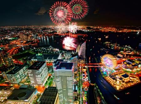 横浜開港祭花火2019の日程!有料チケットや見物の穴場は?