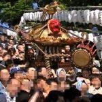 品川神社例大祭2018の開催情報!ちょっと変わった神輿の担ぎ方とは?