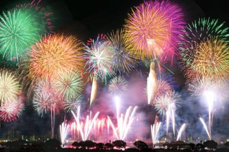 江戸川区花火大会2018!打上数や観覧の穴場、有料席は?