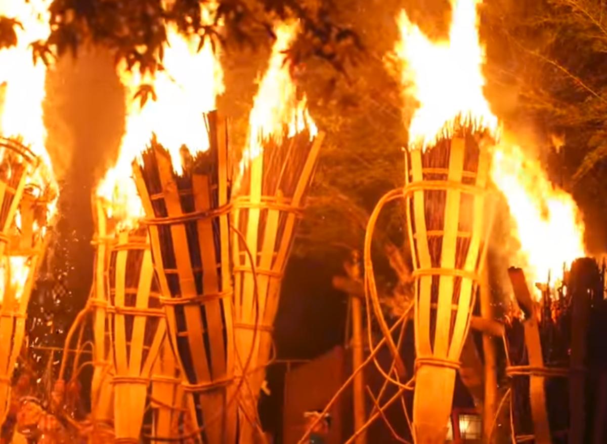 鞍馬の火祭り2019の日程や時間はいつ?混雑状況の予想は?
