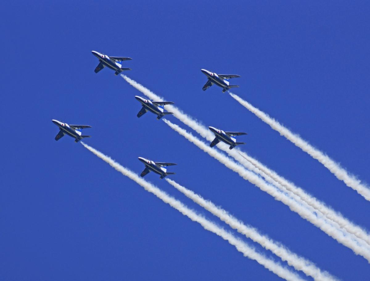 松島基地航空祭2019!ブルーインパルスの飛行時間や駐車場について