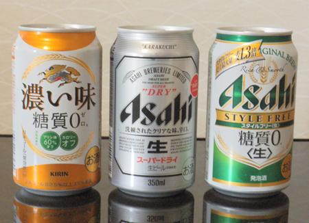 発泡酒とビールと第三のビール いろいろあるけどその違いは?