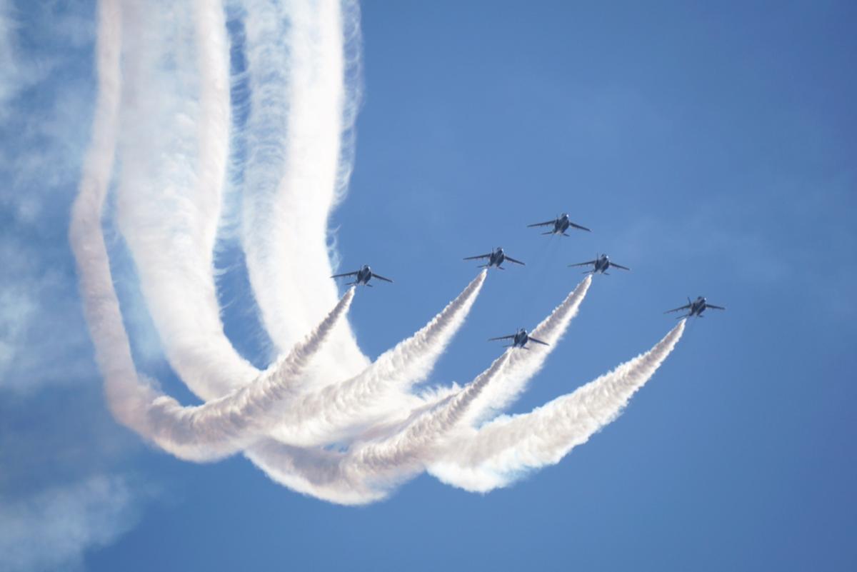 小松基地航空祭2019!日程や駐車場、ブルーインパルスは来る?