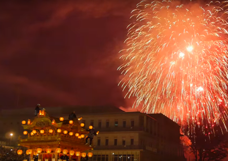 秩父夜祭2019!駐車場や交通規制、花火鑑賞の穴場は?