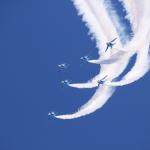千歳基地航空祭2019!アクセスやブルーインパルスの予行は?